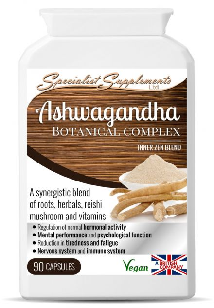 Ashwagandha Botanical Complex x 90 Capsules; Specialist Supplements